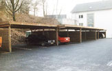 Carports-Anlage – in Halle